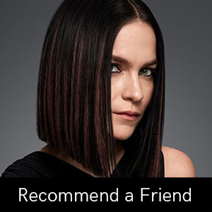Recommend-a-Friend at Coco hair salon in Eastbourne
