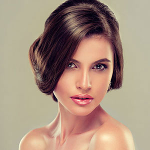 Bridal Hairstyles for Medium Length Hair at Coco Hair Salon in Eastbourne