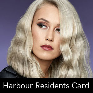 Harbour-Residents-Card at Coco hair salon in Eastbourne