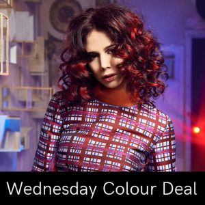wednesday hair colour deal at Coco hair salon in Eastbourne