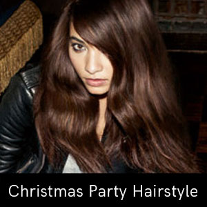 Christmas Party Hairstyle Inspiration
