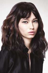 medium length hairstyle at Coco hair eastbourne