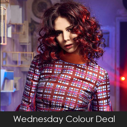 Wednesday Colour Deals at Coco Hair Salon in Eastbourne