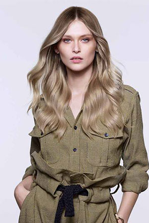blonde hair colour, Coco Hair Salon in Eastbourne, Sussex
