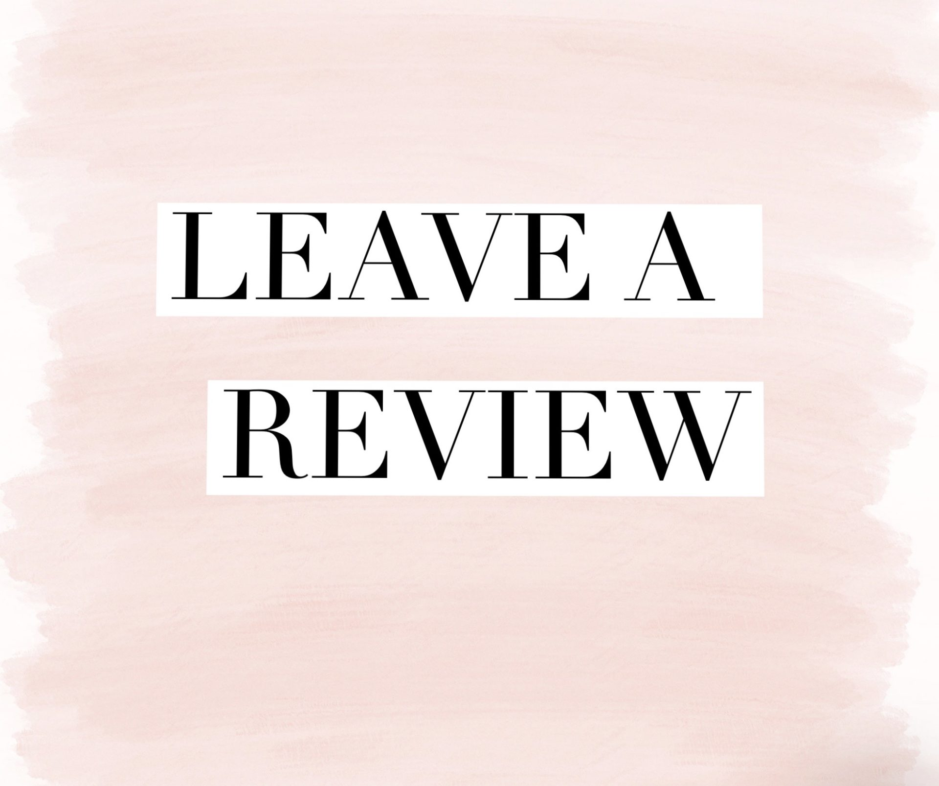 Leave us a Review, Salon Reviews, Coco Hair Salon in Eastbourne