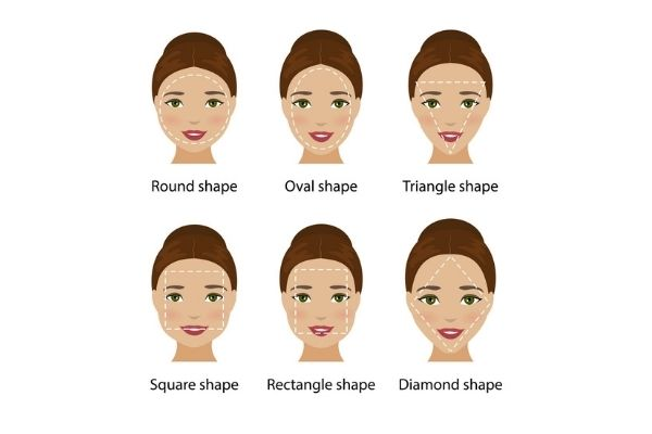 Find the hairstyle for your face shape at Coco Hair Salon in Eastbourne